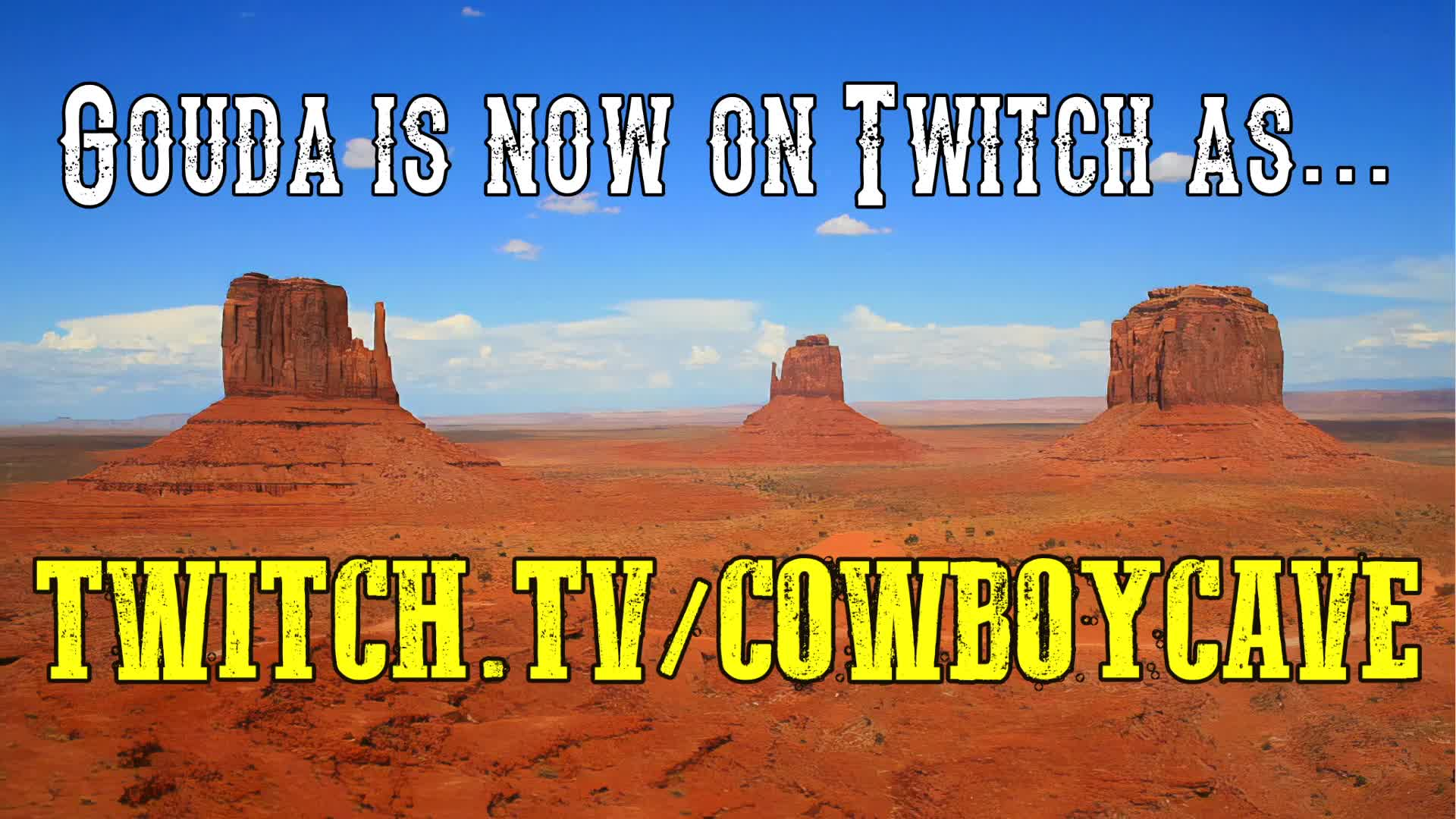 POLITICAL COMMENTARY + MINECRAFT @ 2 PM CDT | twitch.tv/CowboyCave