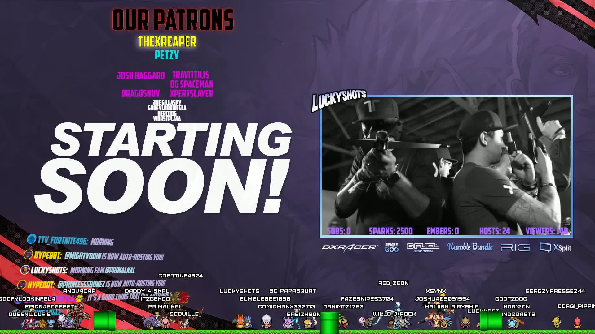 Chattin' for a bit then games! || !headset !monitor !gamepc ||