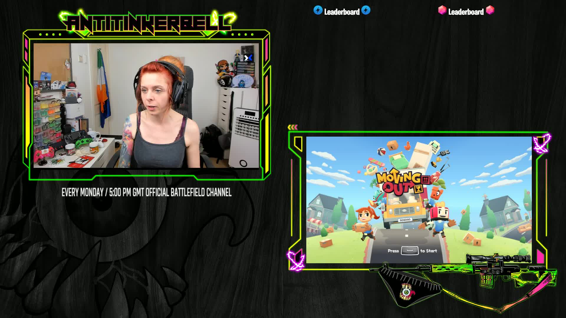 Moving out w/ Dontwatchmeplay & Senpai | Irish Mixer Partner | @Antitinkerbell