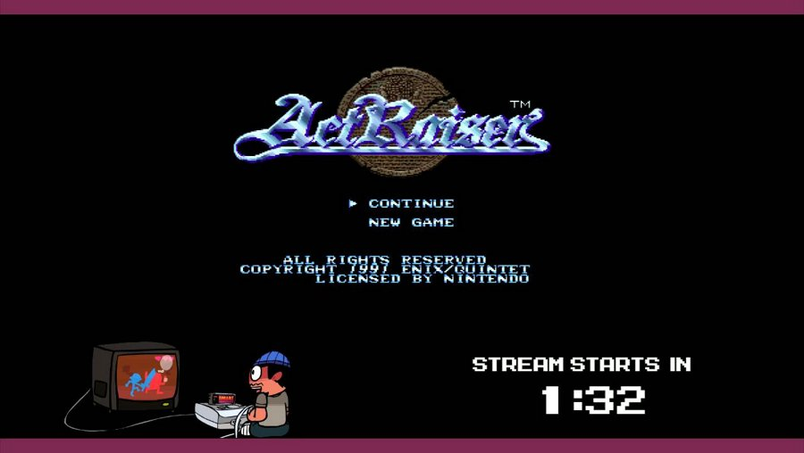 ActRaiser (SNES)! Action platformer and city simulator rolled into one?! Streaming from actual SNES!