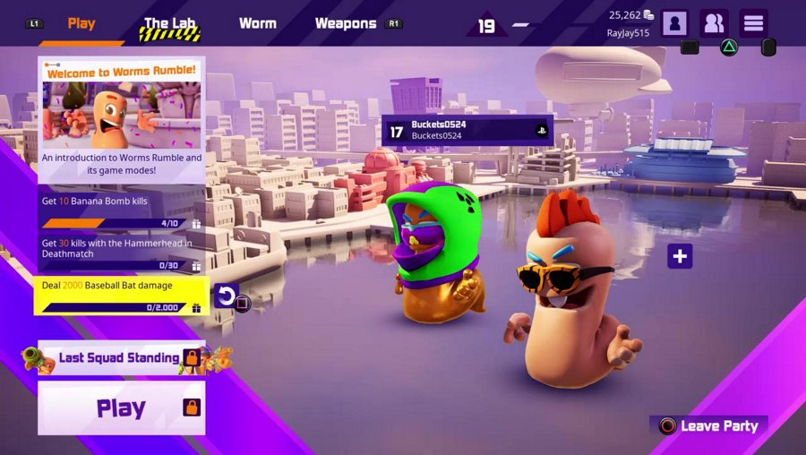 Worms Rumble! Stop by and check it out