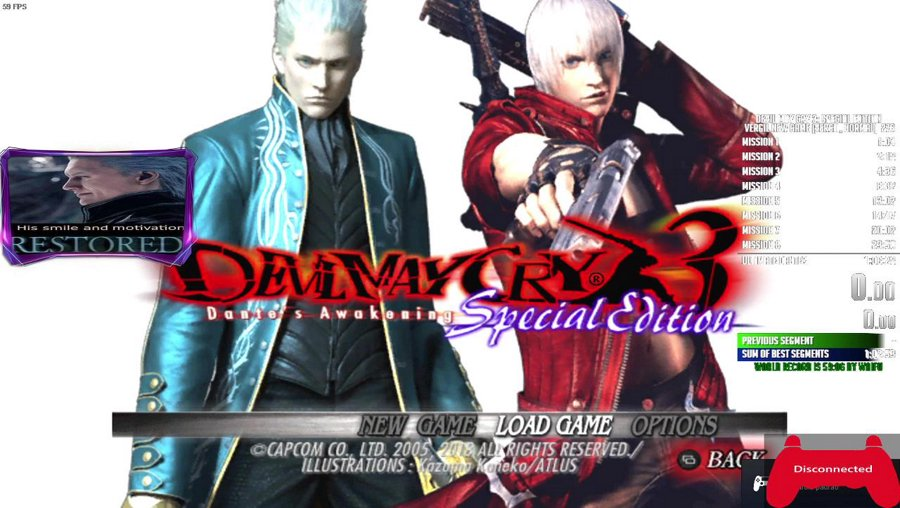 aquele grind pesado no dmc3 vergil ng normal !discord !youtube