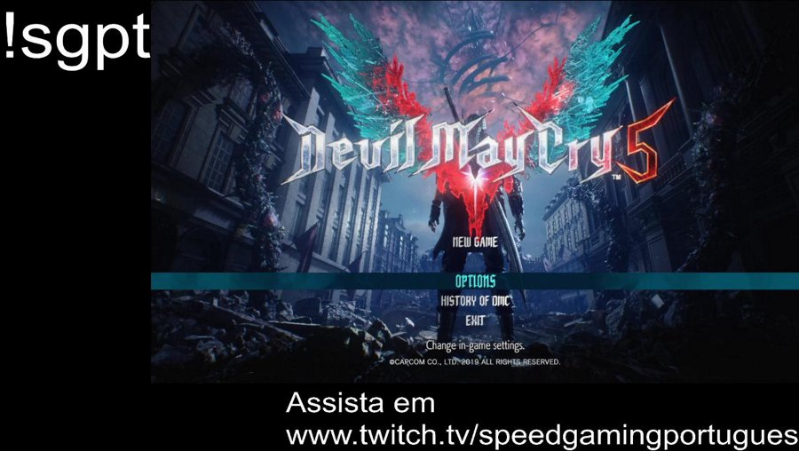 Assista em https://www.twitch.tv/speedgamingportugues (!sgpt)