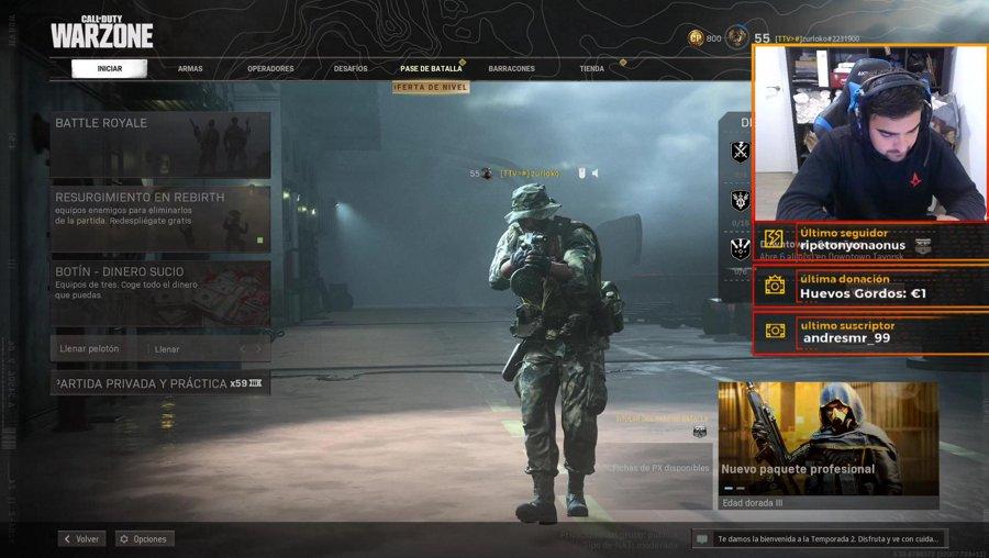 🔥SABADO DE WARZONE🔥 | Call of Duty: Warzone