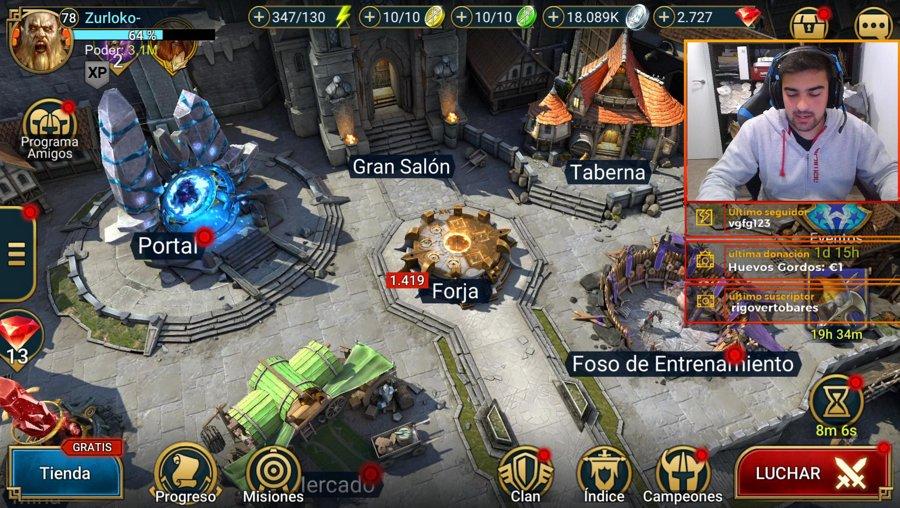 VAMOS A YA!  AYUDAS,CHARLAS....| Raid: Shadow Legends