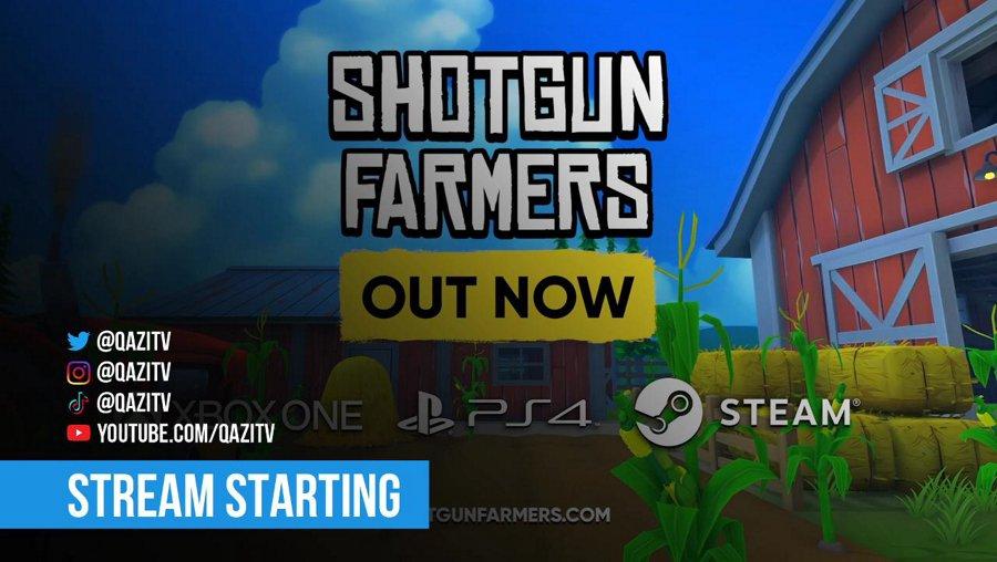 New LTM! Shotgun Farmers Developer Stream