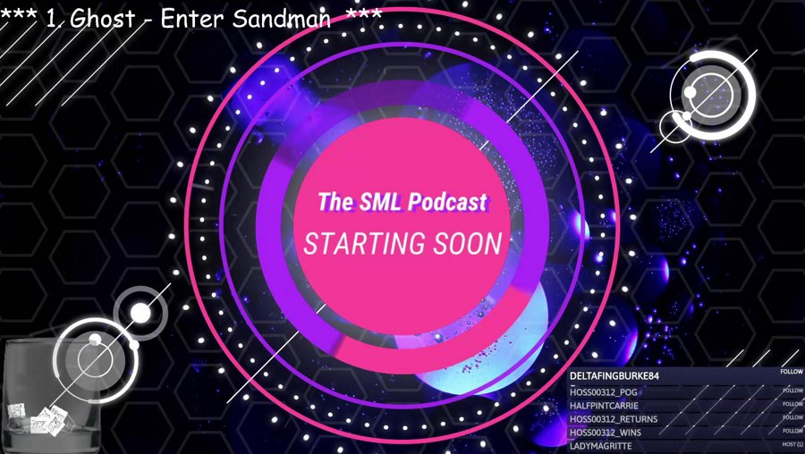 The SML Streamcast LIVE -- !wetpancakes