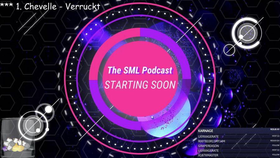 The SML Streamcast LIVE - !wetpancakes