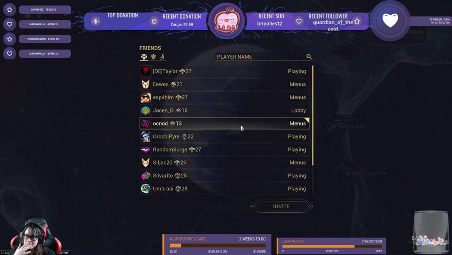 [PC] [WF PARTNER] time to be a SPACE PIRATE (with drops!)
