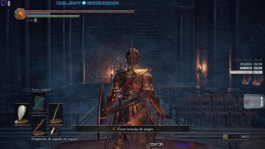 [ESP] Dark Souls 3 | Manqueando en compañía | @streamloots