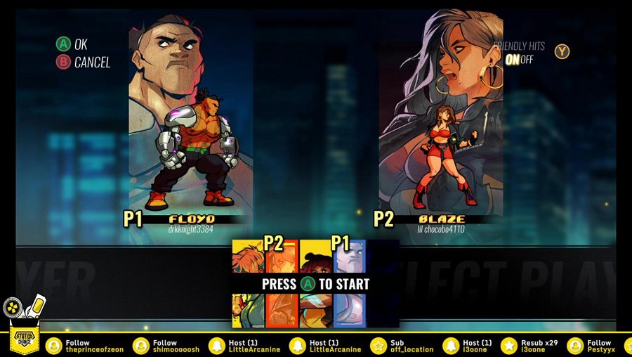 LET'S RAGE!!!! Streets of Rage 4