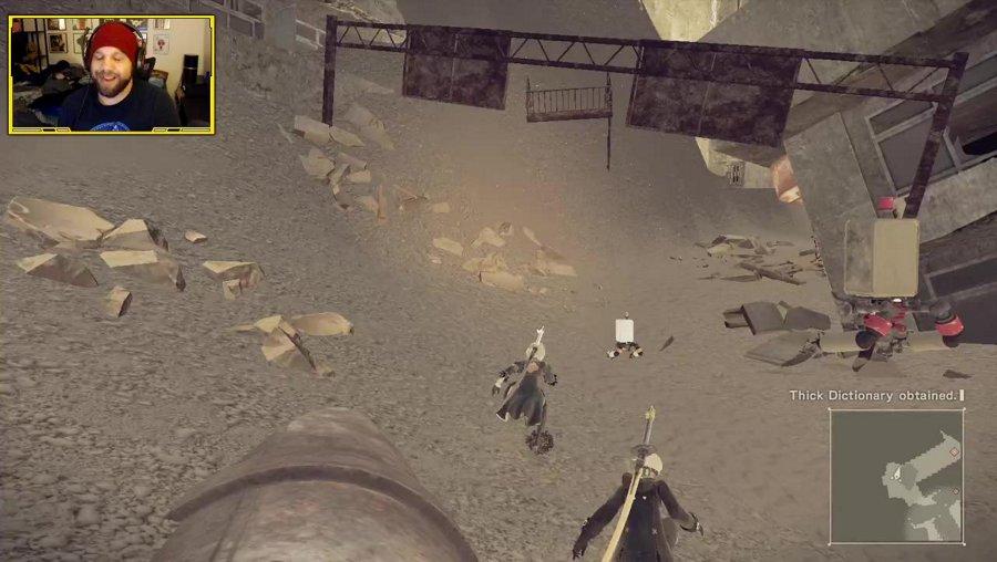 Nier Automata! First playthrough [Ending A]