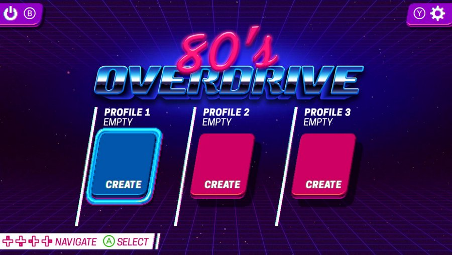 Hot Streaming 80's Overdrive