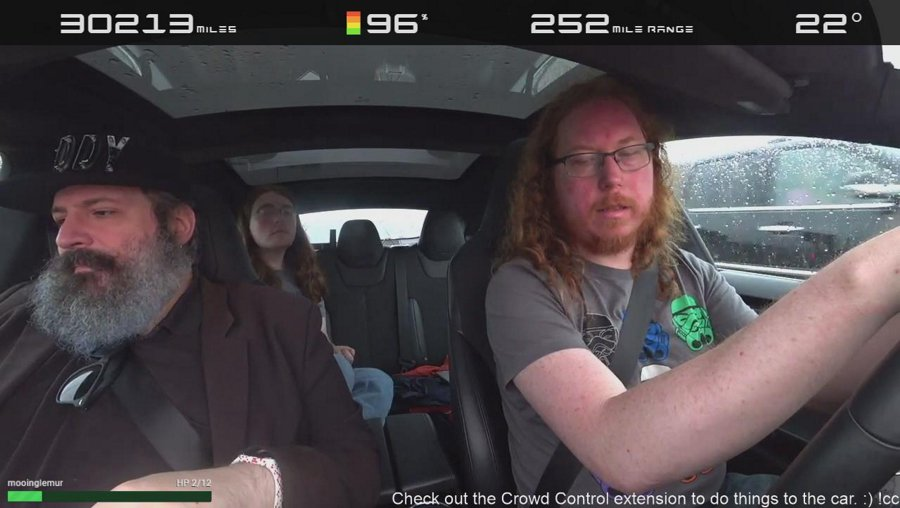Driving to SGDQ from Chicago! We have Crowd Control support, you can control aspects of the car live!