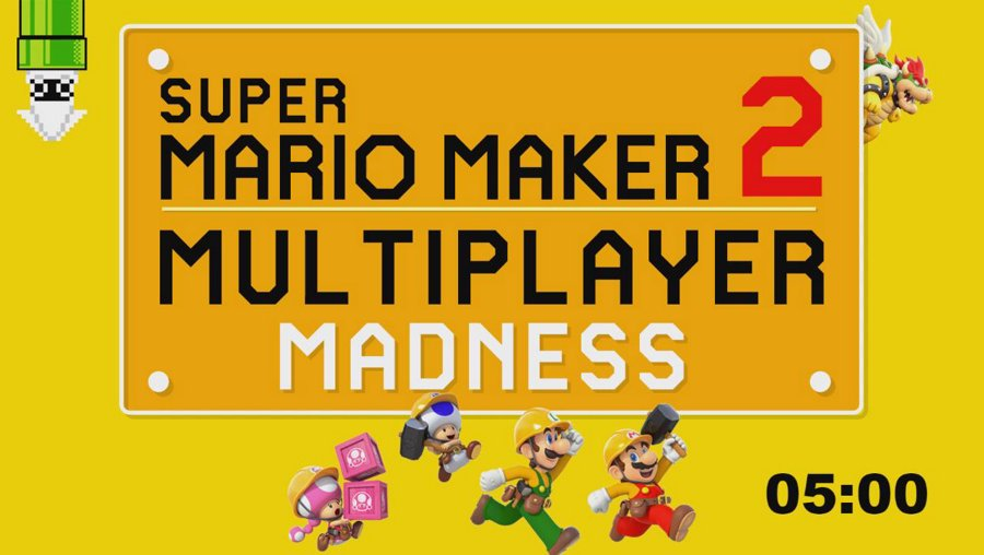 Super Mario Maker Multiplayer Madness! With cliffy, spikevegta and chudbreeder!