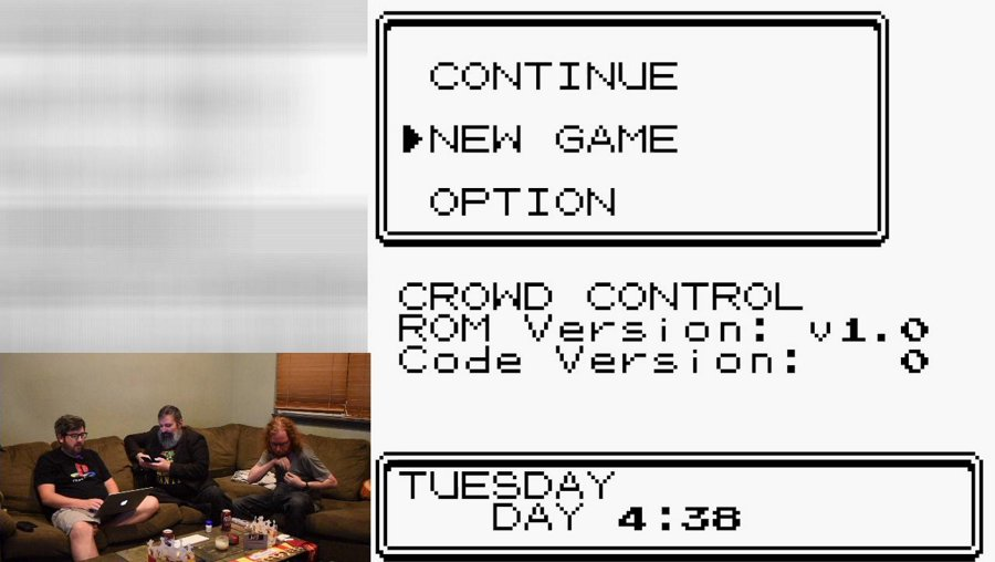 Another Pokemon Crystal Test with guests!