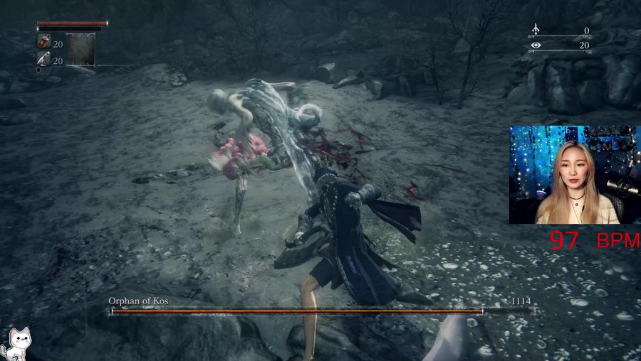 BL4 Orphan of Kos, no parry, no papers, no bbp! HR Monitor on! BL4 means no leveling up your character! !boss