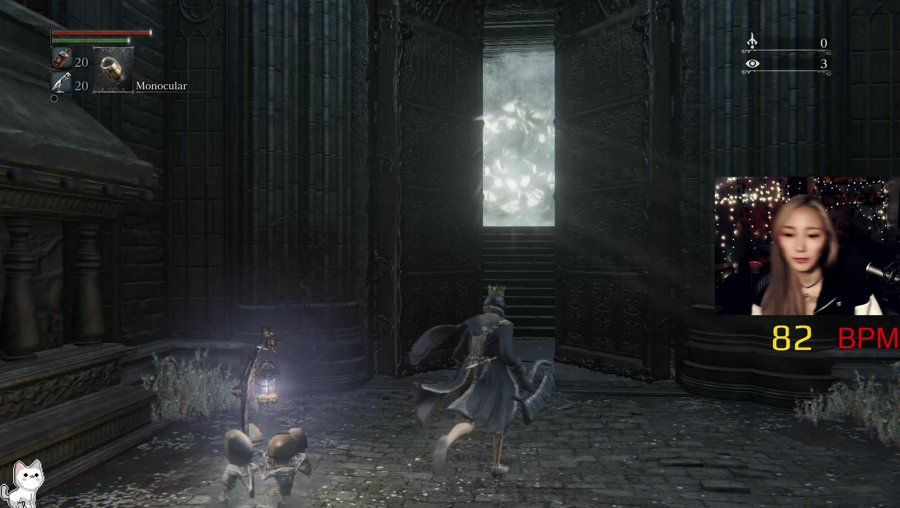 BL4 Maria - No parrying, no paper, no bbp. HR Monitor on! BL4 means no leveling up your character! !boss