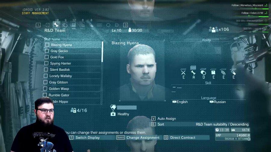 (PC) !blind Joey Plays Metal Gear V