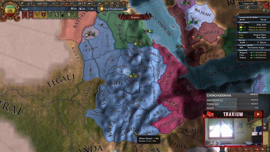 EU4 - Seguimos con Etiopía !logro