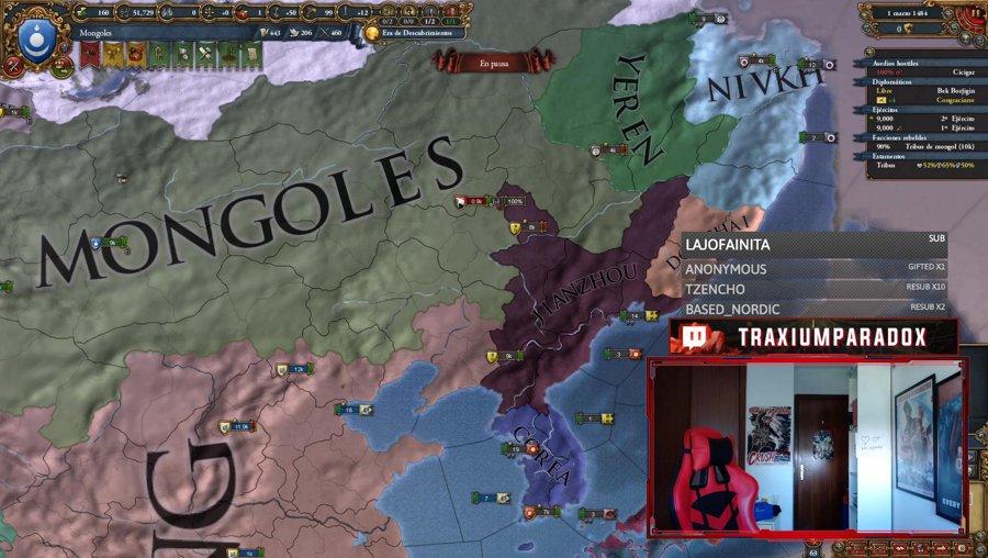 Mongolia hacia el Gran Khanato !sorteo !logro !version