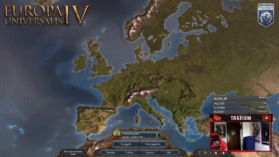 EU4 - Empezando nueva campaña! - !logro !sorteo