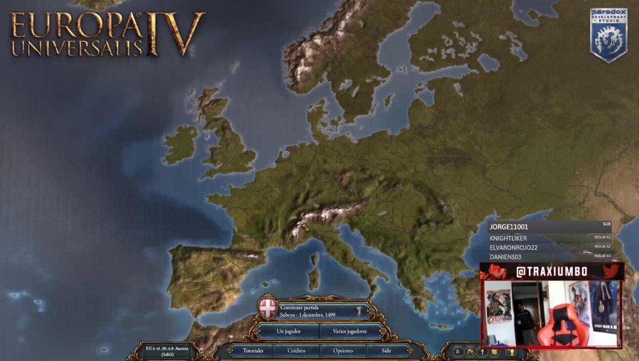 EU4 - Run de logros con Inglaterra - !logro !sorteo