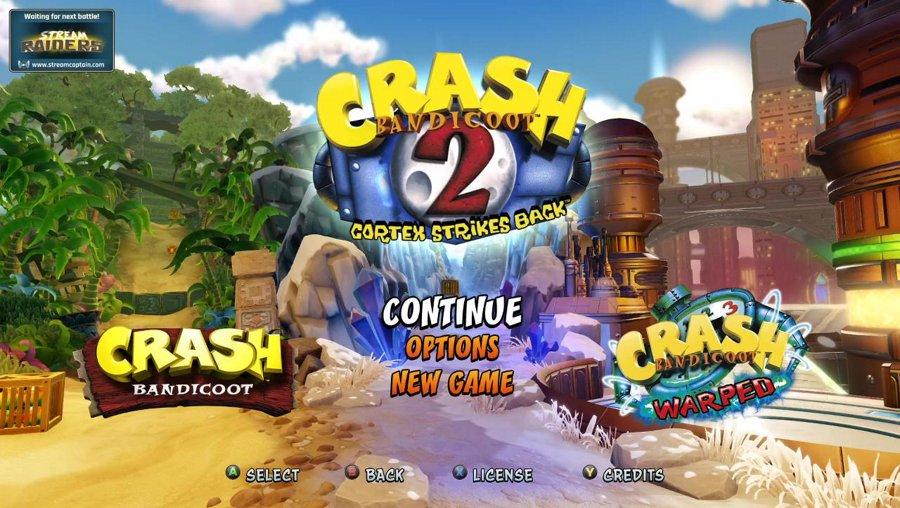 Crash 2 [Stream Raiders]