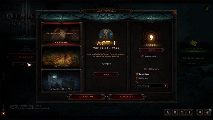 murdering Blizzard's monsters