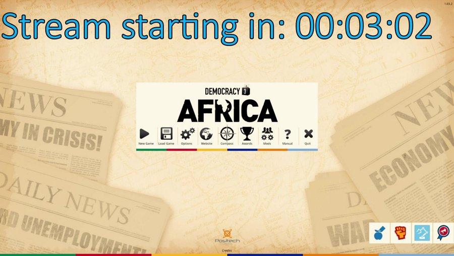 Democracy 3 Africa (discord vote winner)