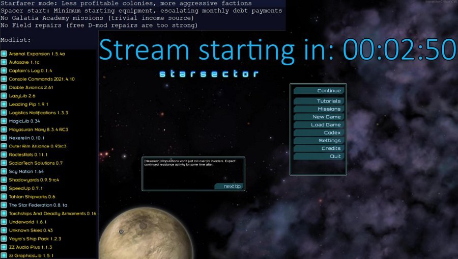 Starsector: Poverty mode (!ss for details) - Time for colonies?