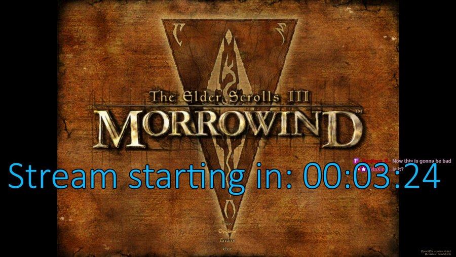 TES III: Morrowind (discord vote winner)