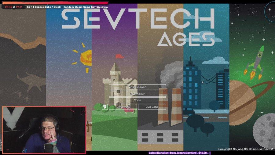 SevTech Ages! I have slept, I promise!