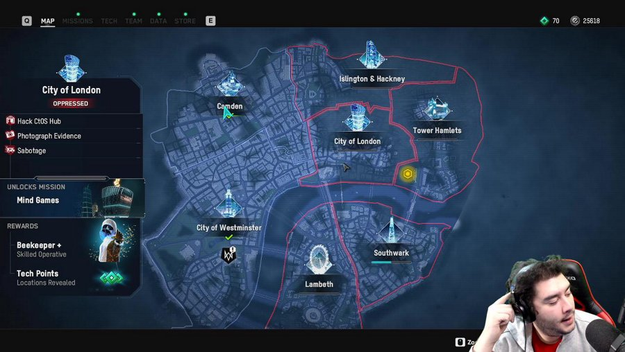 Watch Dogs: Legion Trying to Finish One Game! #2361