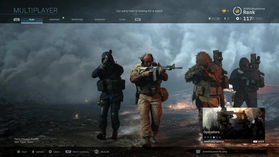 Modern Warfare Night    @LtRoyalShrimp