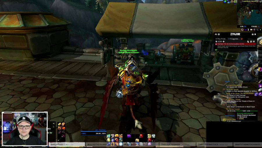 Rep stuff and dungeons in WoW