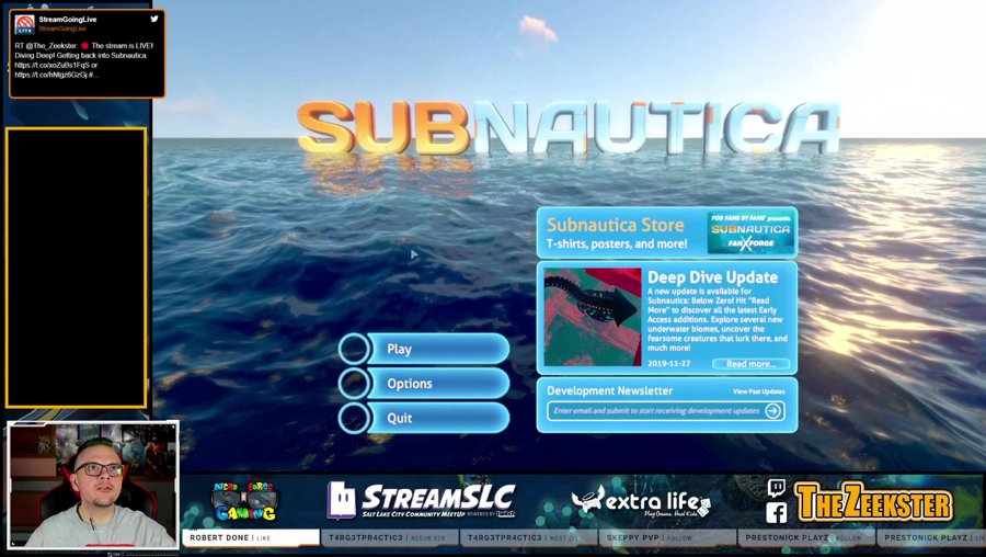 Diving Deep!  Getting back into Subnautica