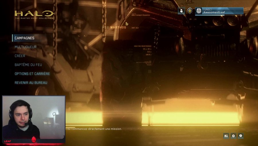 Leaf & Shuh : Training GPC / Halo 2 Aniversary