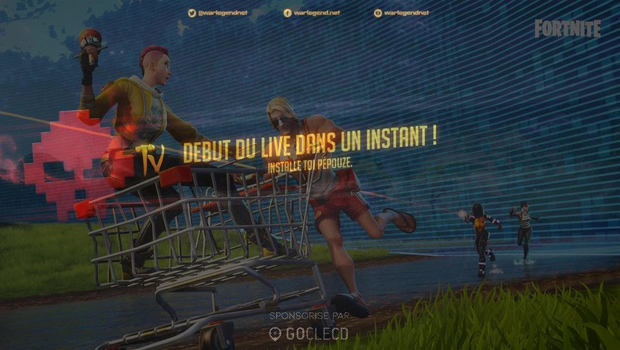 [Web TV] !LeightNash - Chill reprise des streams + Fortnite (Duo viewers ptet ?) - !skull