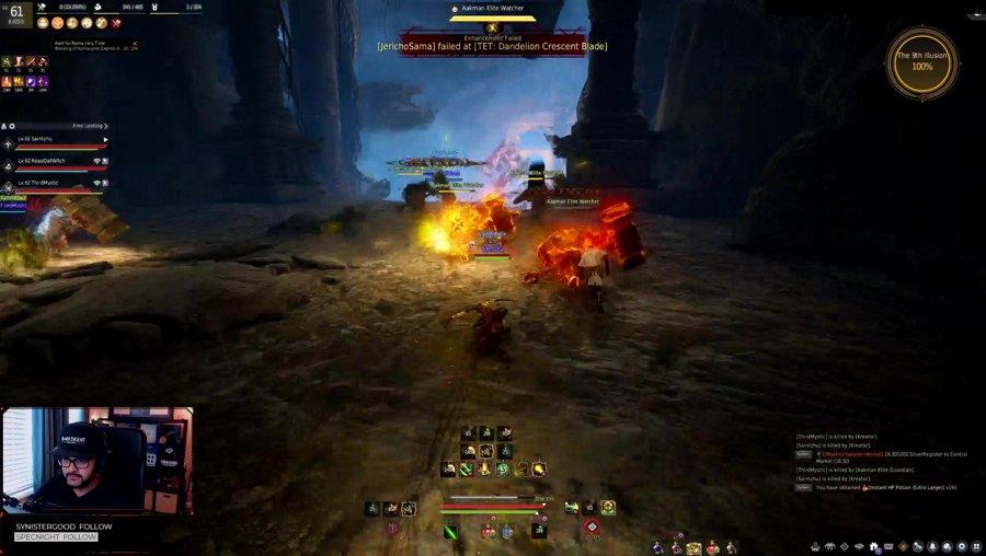 269 Ninja/Archer 🏹| Altar of Blood + Node War | !krpatch !tetbasi !discord