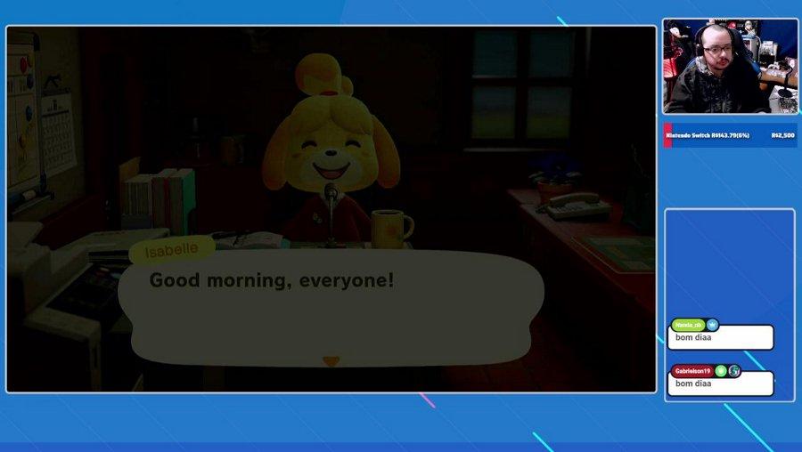 Acordando com Animal Crossing mas já vamos pro crime no Pokemon Unite - !meta !doar !kc !loja !gamechops [nosrl]