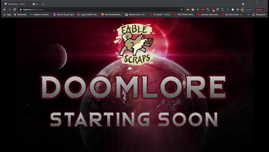 DoomLore Ep. 17   Twitch.tv/fablescraps