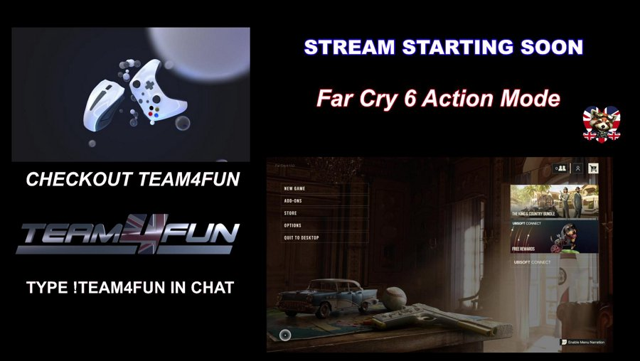 Positivity![PC]Panda's in Trouble :D FC6 Day 1 Action Mode Hiya Friends