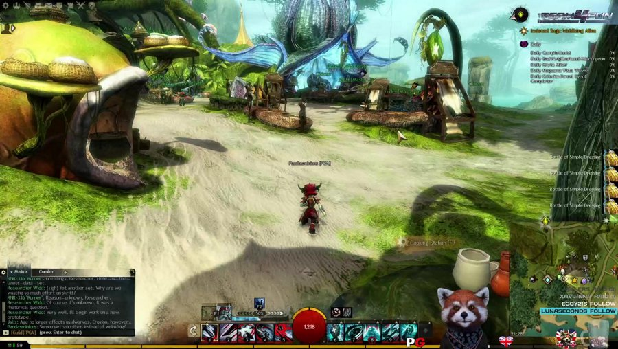 Positivity[PC]Guild Wars 2 EU Aurora Glade Revenant Chill stream Good Evening Friends <3