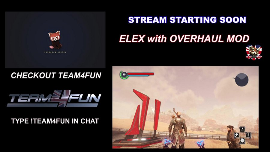 Positivity![PC]Re Visiting !Elex with Overhaul mod  Early Morning Stream Friends o/