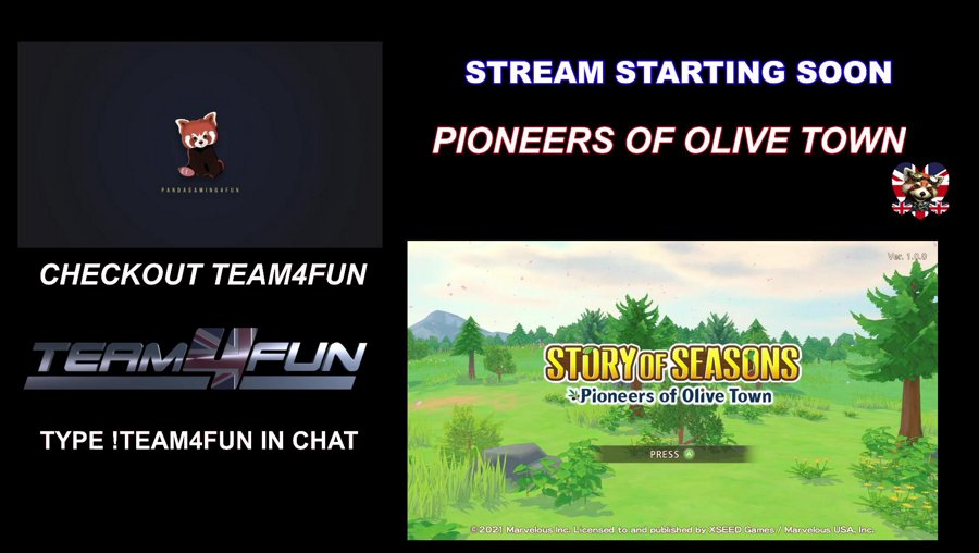 Positivity![PC]Cozy Sunday Stream Pioneers Of Olive Town Hiya Friends