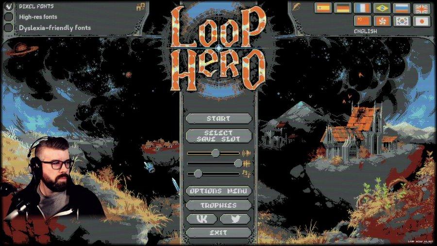Learning Loop Hero