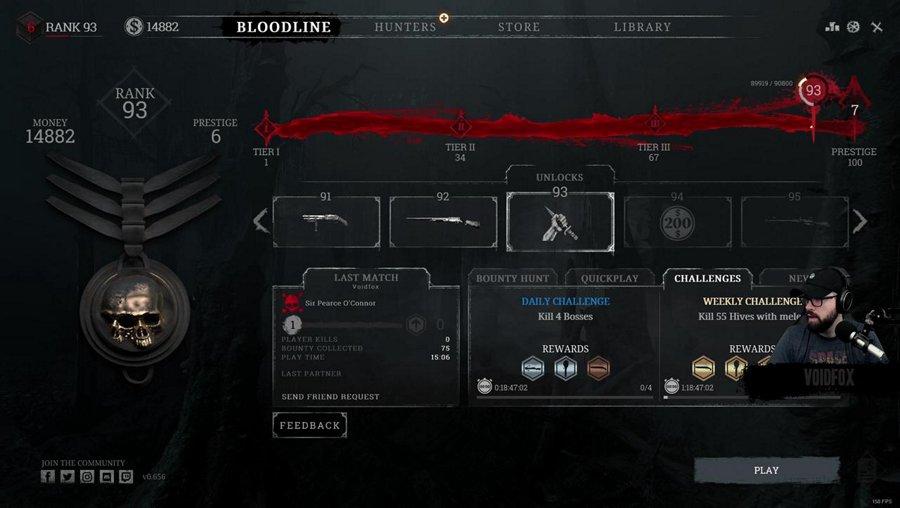 Five hundred hours of Hunt, ZERO aim.