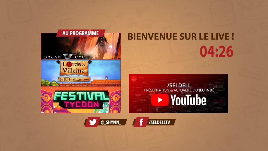 [Découvertes indés] Dream Cycle, Lord and Villeins & Festival Tycoon