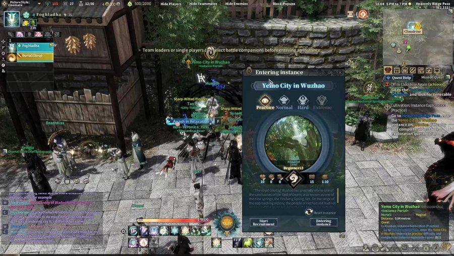 Exploring Swords of Legends Online with Gaiscioch